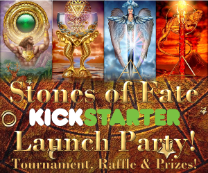 Stones of Fate Kickstarter Party